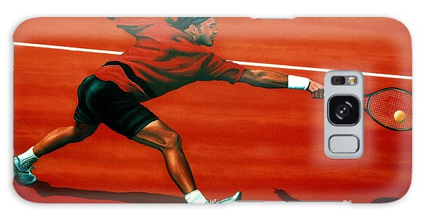 Tennis Galaxy S8 Case - Roger Federer At Roland Garros by Paul Meijering