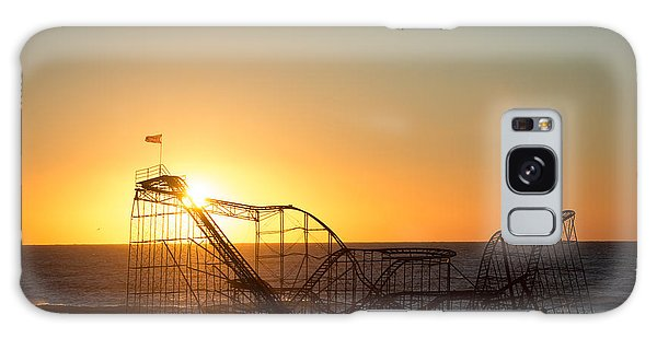Roller Coaster Sunrise Galaxy Case