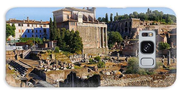 Roman Ruins 3 Galaxy Case