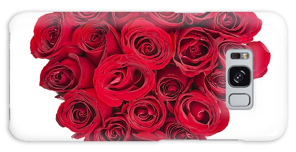 Rose Galaxy S8 Case - Rose Heart by Elena Elisseeva