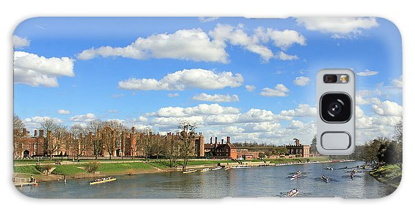 Rowing On The Thames At Hampton Court Galaxy Case