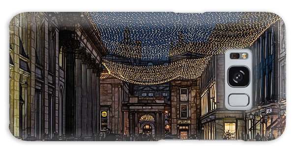 Royal Exchange Square Glasgow Galaxy Case by Fiona Messenger