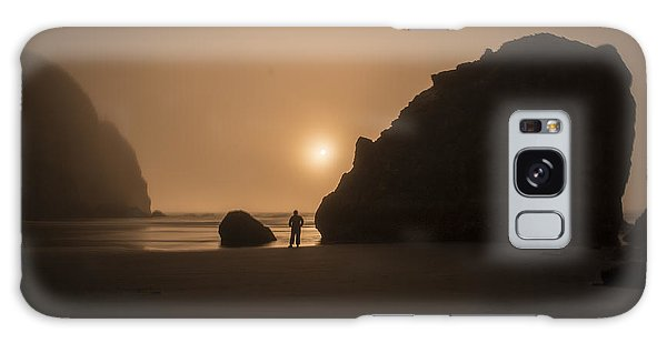 Ruby Beach Sunset Galaxy Case