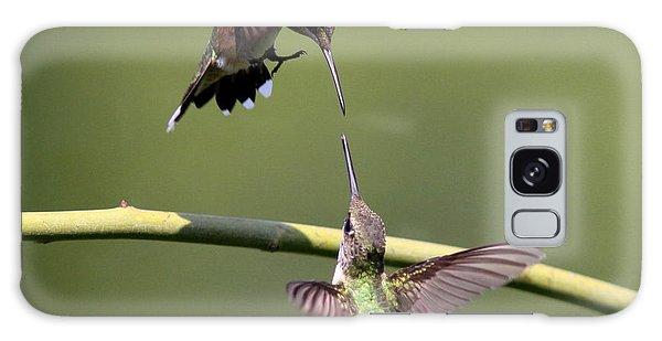 Ruby-throated Hummingbird Galaxy Case