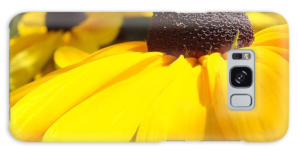 Rudbeckia Up Close Galaxy Case