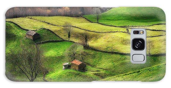 Rural Galaxy S8 Case - Rural Life by Oskar Baglietto
