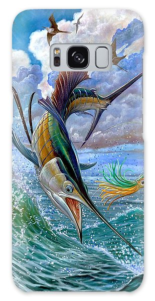 Sailfish And Lure Galaxy Case