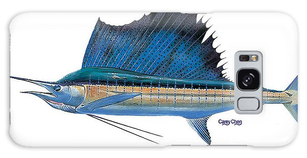 Mangrove Galaxy Case - Sailfish by Carey Chen