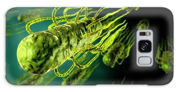 No-one Galaxy Case - Salmonella Bacteria by Harvinder Singh