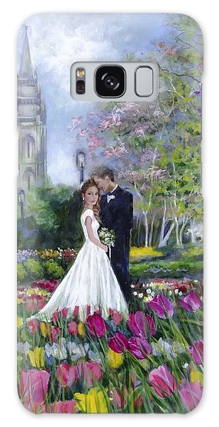 Salt Lake Temple-married In Spring Galaxy Case