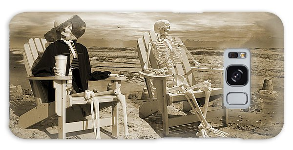Adirondack Chair Galaxy Case - Sam Exchanges Tales With An Old Friend by Betsy Knapp