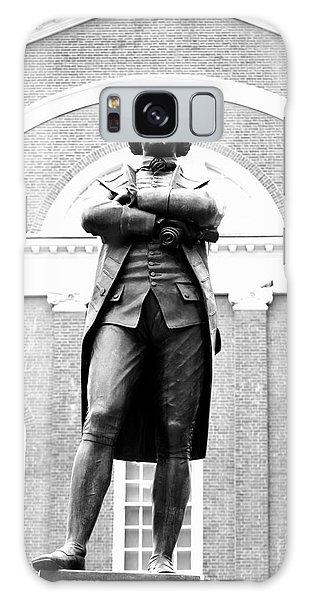 Samuel Adams Statue, State House Boston Ma Galaxy Case