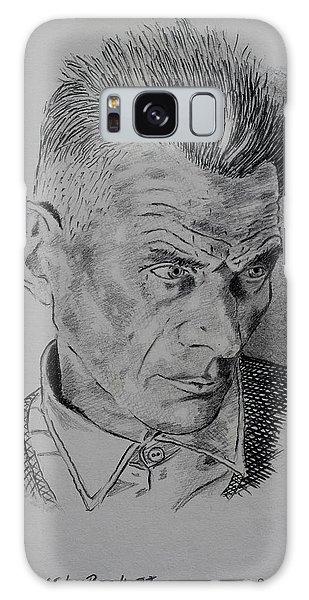 Decorative Galaxy Case - Samuel Beckett by John  Nolan