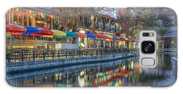 San Antonio Riverwalk Galaxy Case