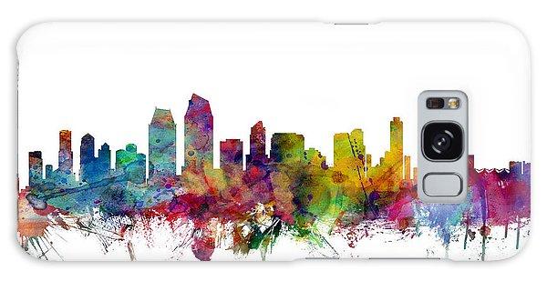 Usa Galaxy Case - San Diego California Skyline by Michael Tompsett