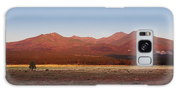 San Francisco Peaks Sunrise Galaxy Case