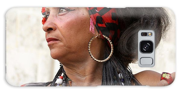 Santeria Woman Galaxy Case