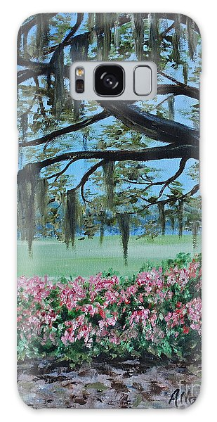 Savannah Spring Galaxy Case
