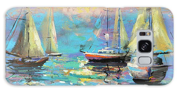Sea Breeze Galaxy Case by Dmitry Spiros