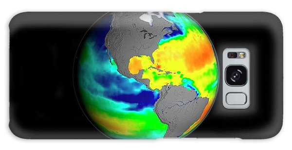 Earth From Space Galaxy Case - Sea Surface Salinity by Nasa/goddard Space Flight Center Scientific Visualization Studio