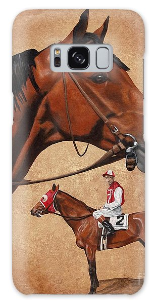 Seabiscuit Galaxy Case