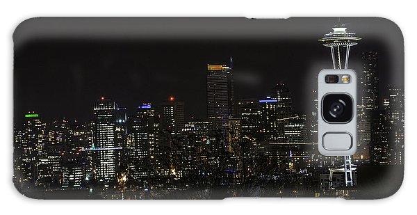 Seattle Skyline 1 Galaxy Case