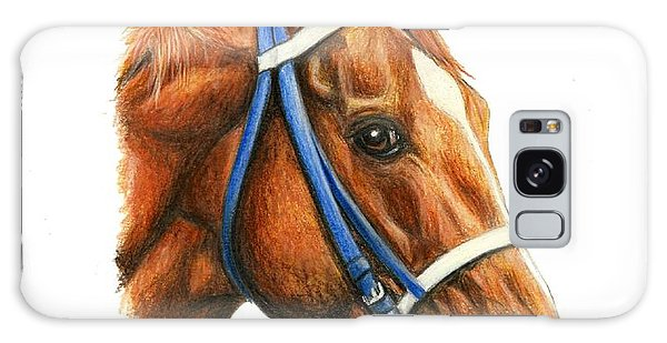 Secretariat With Racing Bridle Galaxy Case