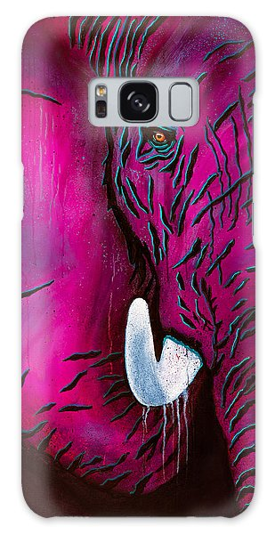 Seeing Pink Elephants Galaxy Case