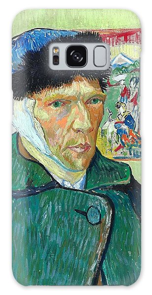 Art Institute Galaxy Case - Self-portrait With Bandaged Ear by Vincent van Gogh