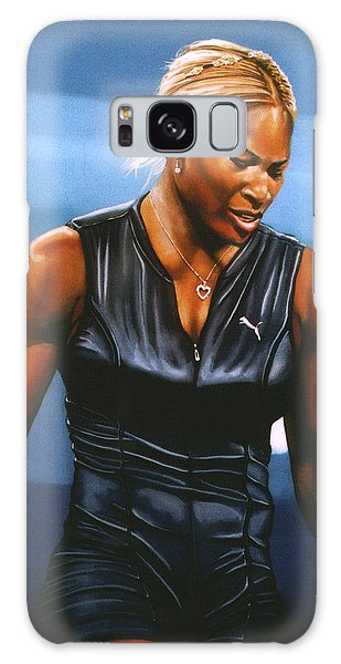 Tennis Galaxy S8 Case - Serena Williams by Paul Meijering