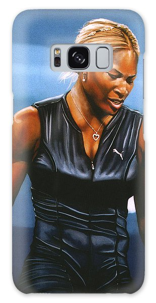 Sportsman Galaxy Case - Serena Williams by Paul Meijering