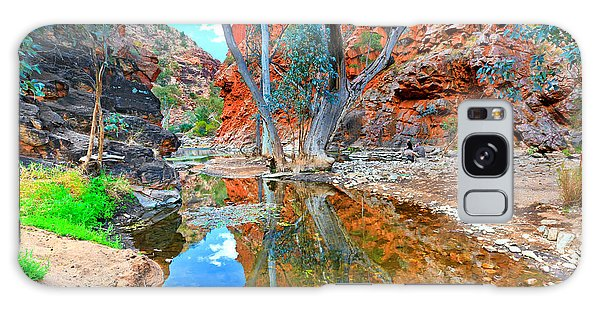 Serpentine Gorge Central Australia Galaxy Case by Bill  Robinson