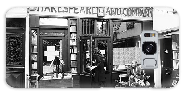 Shakespeare And Company Bookstore In Paris France Galaxy Case