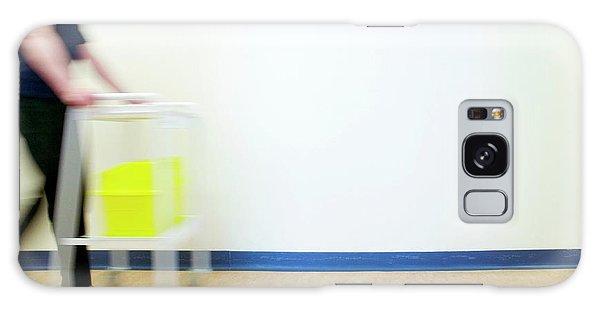 Rubbish Bin Galaxy Case - Sharps Bin by Gustoimages/science Photo Library