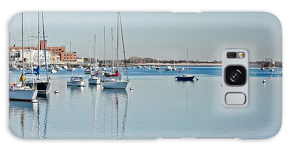 Galaxy Case featuring the photograph Sheepshead Bay Harbor by Ann Murphy