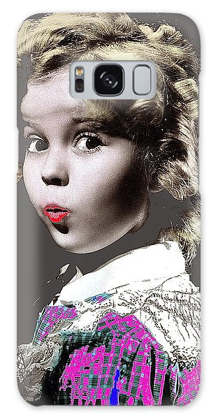 Shirley Temple Publicity Photo Circa 1935-2014 Galaxy Case