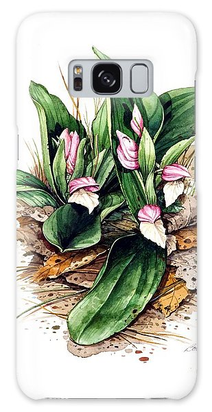 Showy Orchis Galaxy Case by Bob  George