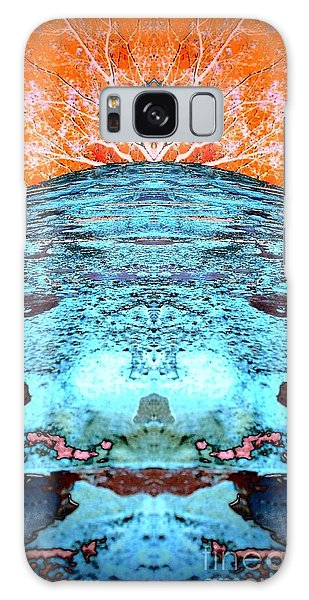 Silo Abstract Galaxy Case by Karen Newell