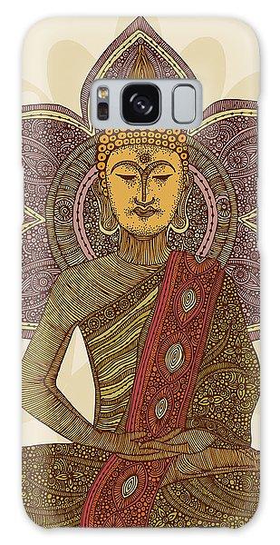 Buddha Galaxy Case - Sitting Buddha by Valentina Ramos