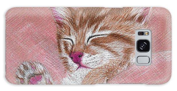 Sleeping Kitty Galaxy Case
