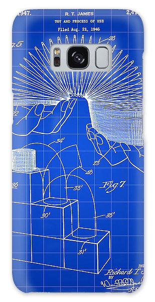 Slinky Patent 1946 - Blue Galaxy Case by Stephen Younts