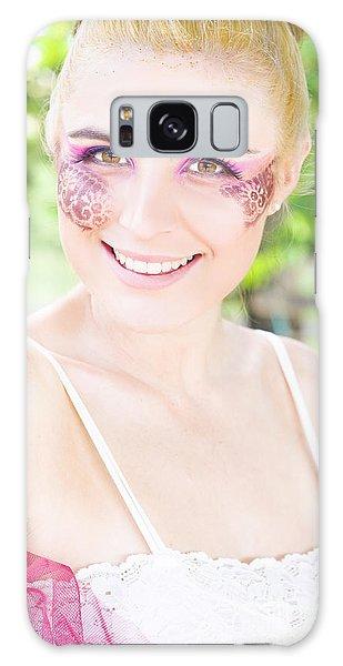 Vivacious Galaxy Case - Smiling Ballerina by Jorgo Photography - Wall Art Gallery