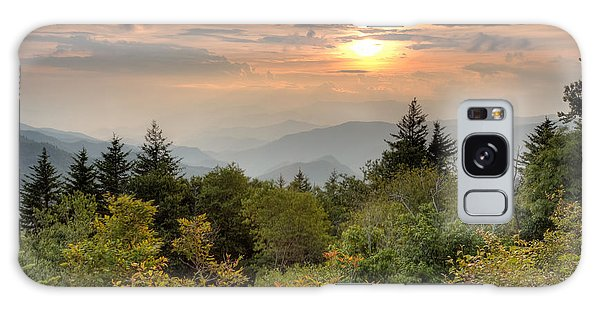 Smokies Sunset Galaxy Case by Doug McPherson