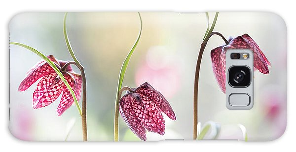 Flora Galaxy Case - Snakes Head Fritillary by Mandy Disher