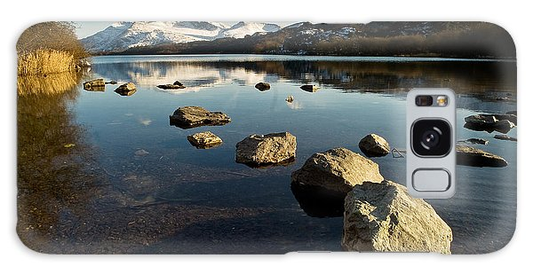 Snowdon And Llyn Padarn Galaxy Case