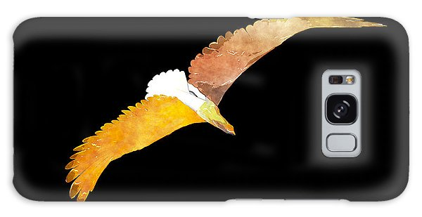 Soaring Eagle Galaxy Case by The Art of Marsha Charlebois