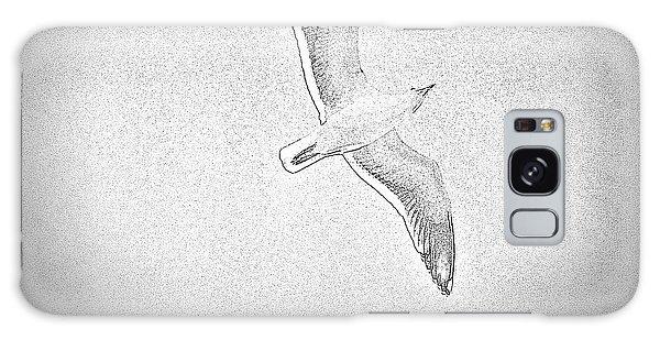 Soaring Seagull Galaxy Case