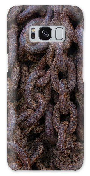 Rusty Chain Galaxy Case - South Georgia Giant Rusted Chains Using by Inger Hogstrom