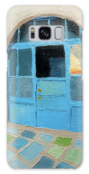 Spanish Arts Village Galaxy Case by Susan Woodward