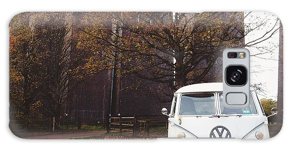 Vw Bus Galaxy Case - Splitty By The Viaducts by Gemma Knight